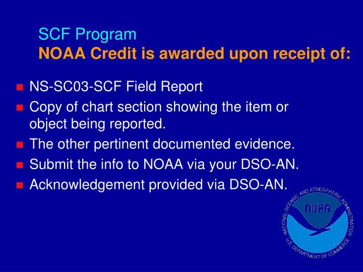 SCF Program