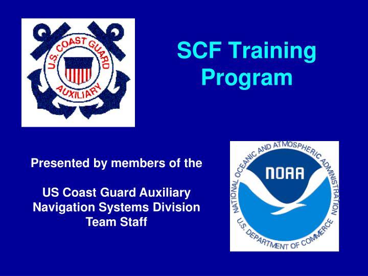 SCF Training Program