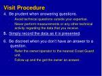 visit procedure1
