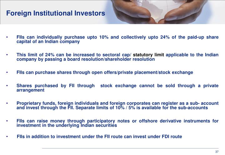 Foreign Institutional Investors