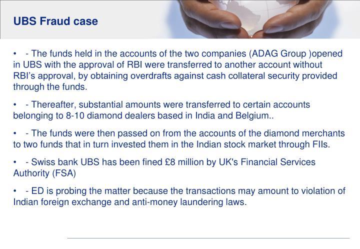 UBS Fraud case