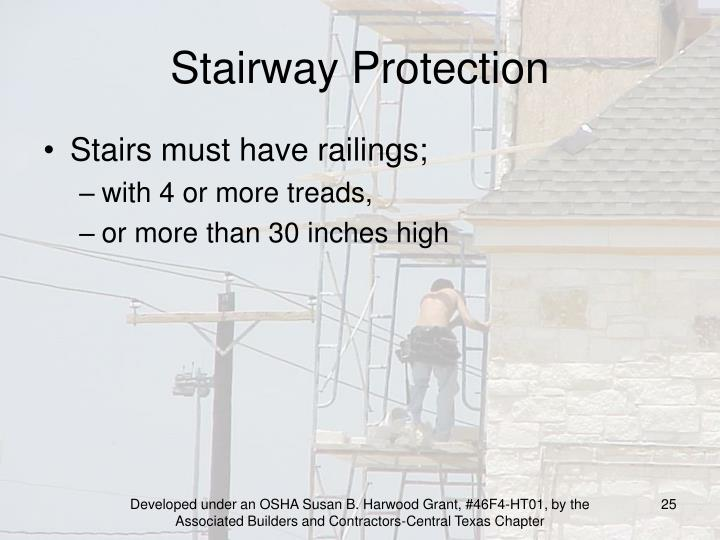 Stairway Protection