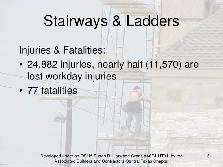 Stairways & Ladders