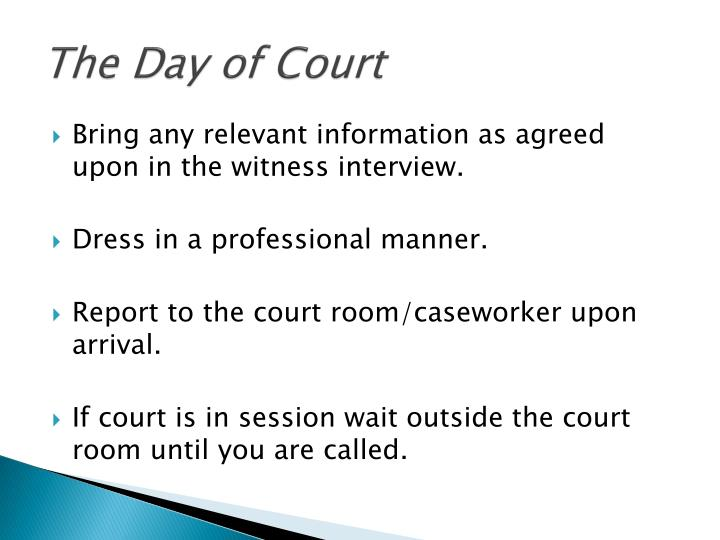 The Day of Court