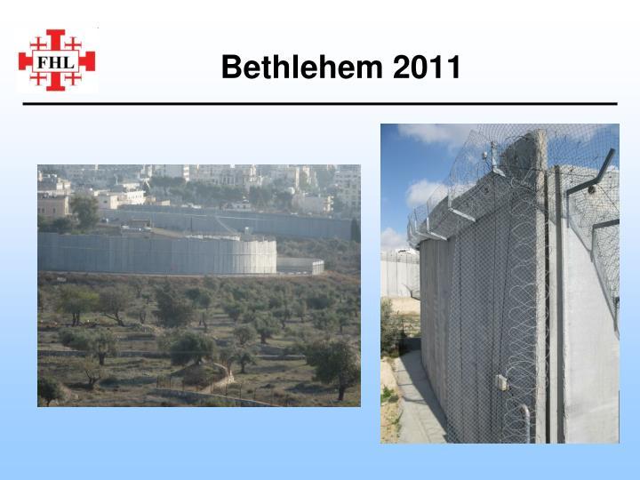 Bethlehem 2011