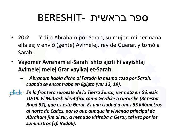 BERESHIT-