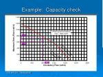 example capacity check
