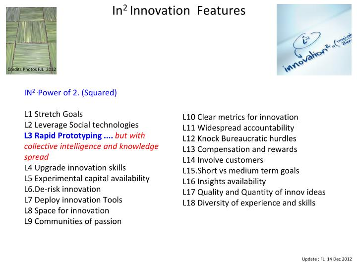 In 2 innovation features