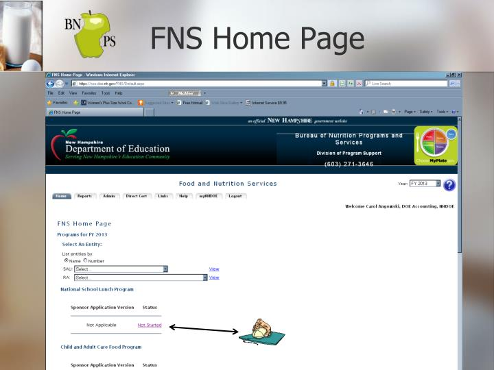 FNS Home Page