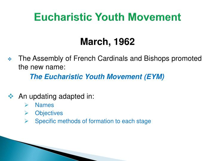 Eucharistic Youth Movement