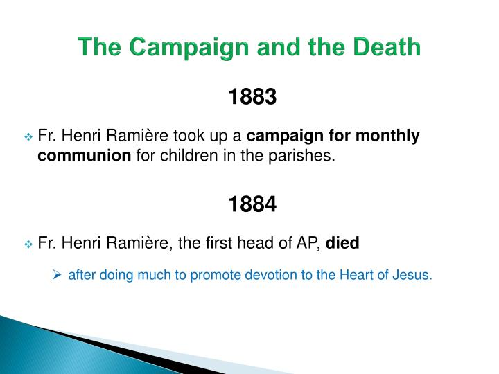 The Campaign and the Death