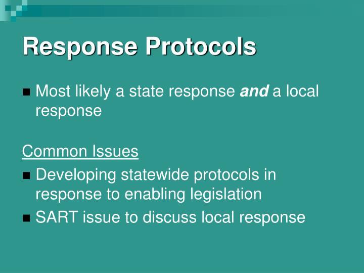 Response Protocols