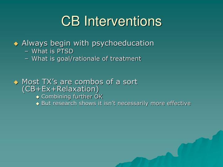 CB Interventions