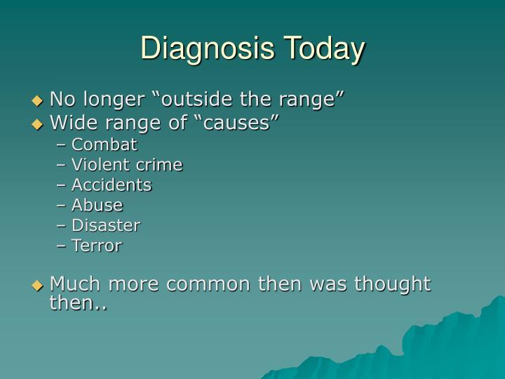 Diagnosis Today