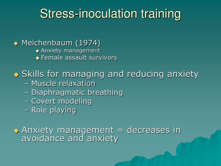Stress-inoculation training