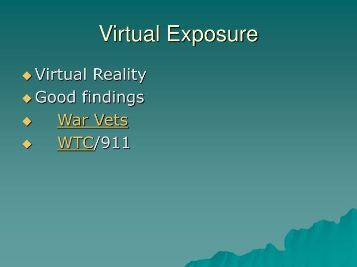 Virtual Exposure