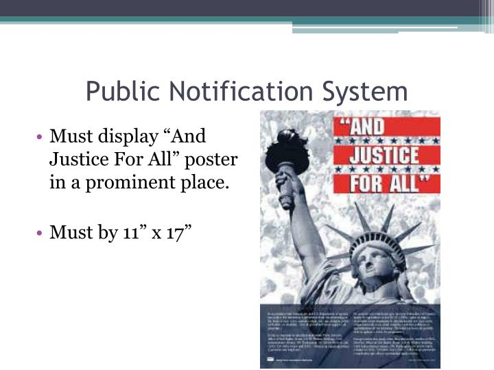 Public Notification System