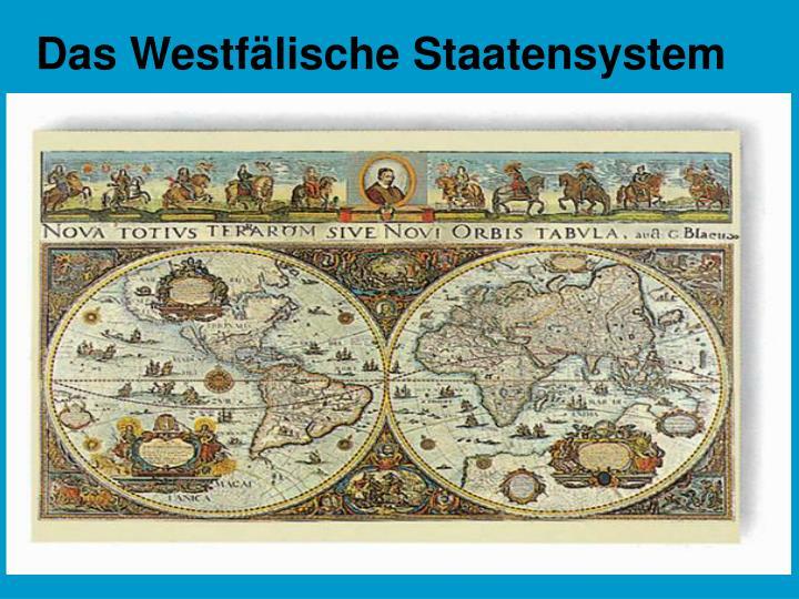 Das Westfälische Staatensystem
