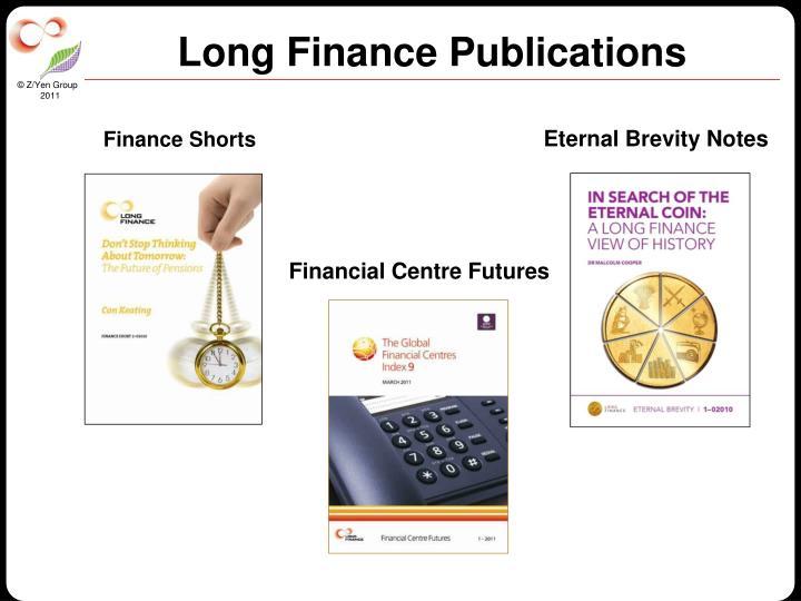 Long Finance Publications
