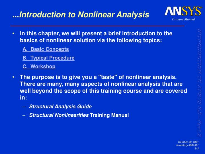 ...Introduction to Nonlinear Analysis