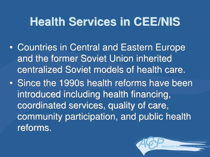 Health Services in CEE/NIS