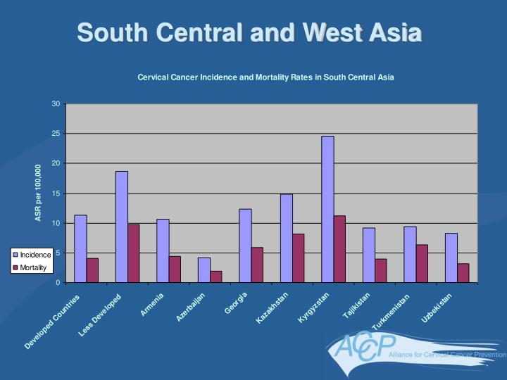 South Central and West Asia