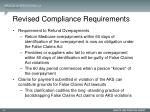 revised compliance requirements2