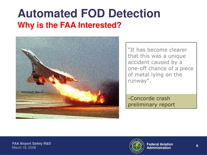 Automated FOD Detection