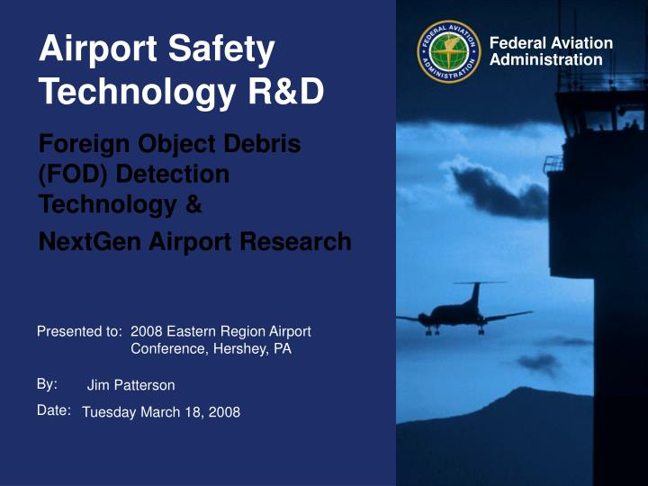 Foreign Object Debris (FOD) Detection Technology &