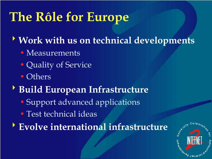 Work with us on technical developments