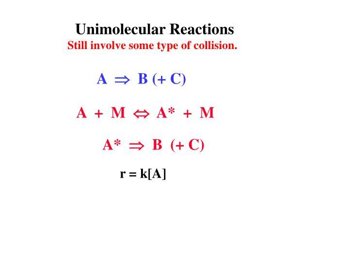 Unimolecular