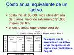 costo anual equivalente de un activo2