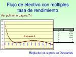 flujo de efectivo con m ltiples tasa de rendimiento1