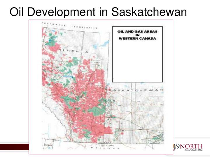 Oil Development in Saskatchewan