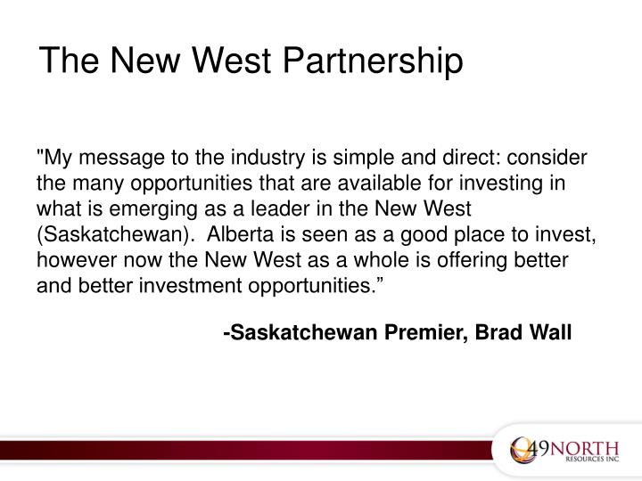 The New West Partnership