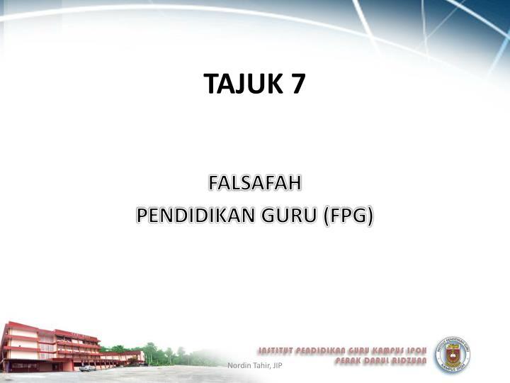 TAJUK 7