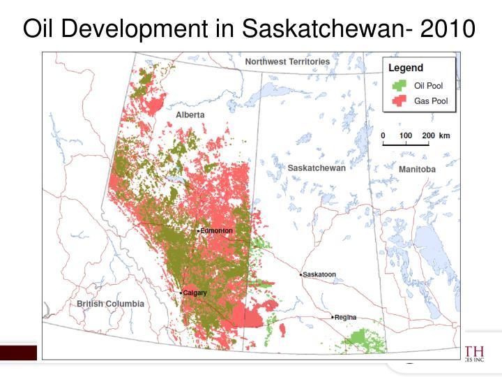 Oil Development in Saskatchewan- 2010