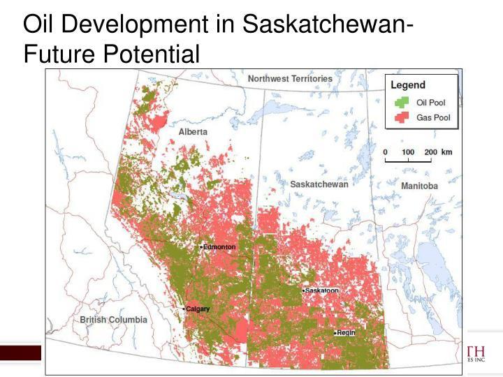 Oil Development in Saskatchewan-