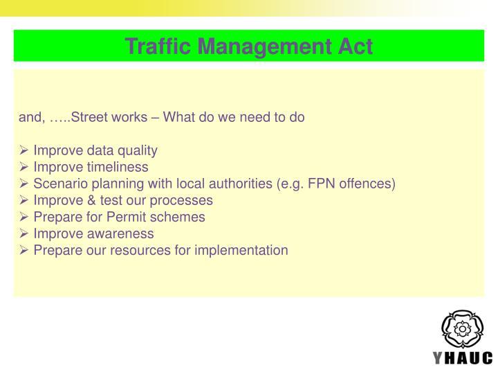 Traffic Management Act