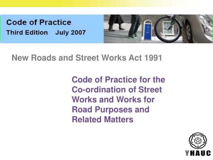 Code of Practice for the