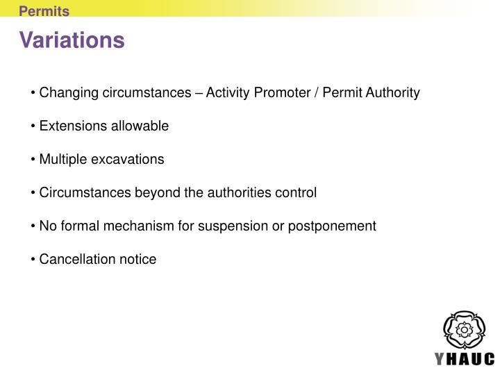 Permits