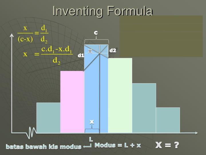 Inventing Formula