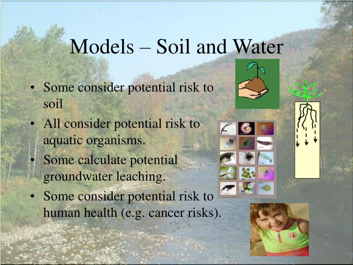 Models – Soil and Water