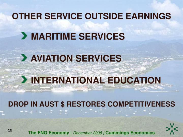 OTHER SERVICE OUTSIDE EARNINGS