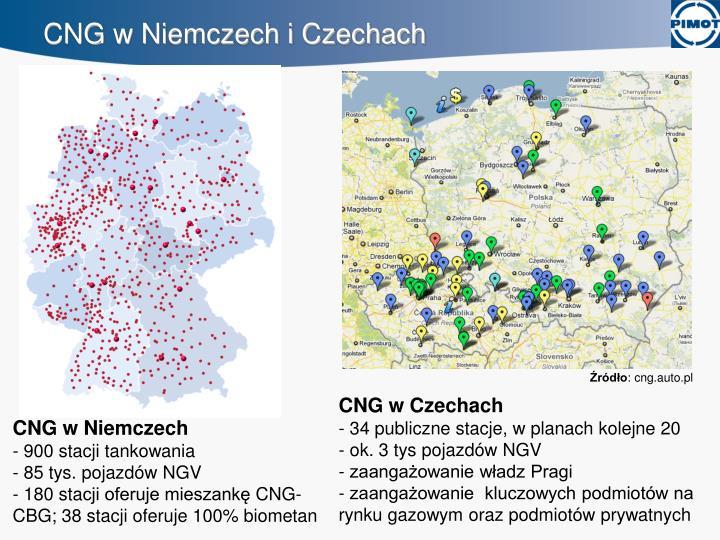 CNG w Niemczech i Czechach