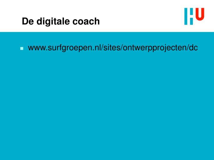 De digitale coach