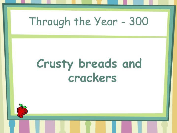 Through the Year - 300