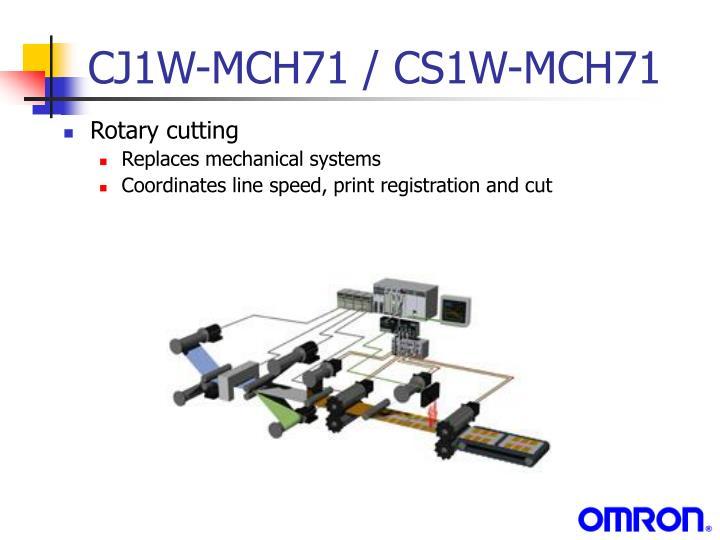 CJ1W-MCH71 / CS1W-MCH71