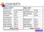 cj1w ncf7111