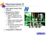 mechatrolink ii1